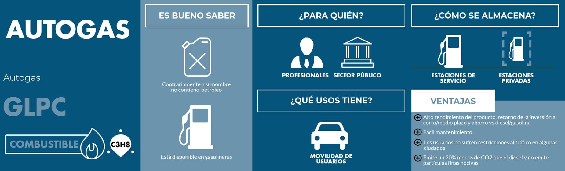 Infografía Autogas