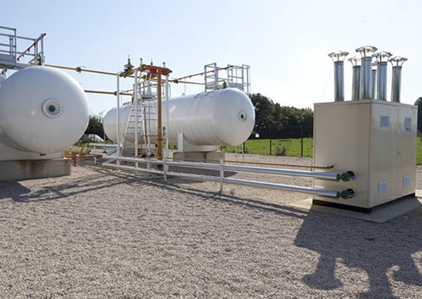 Depósitos gas licuado